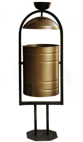 Урна для мусора с пепельницей (ЯСП - 20 литров)